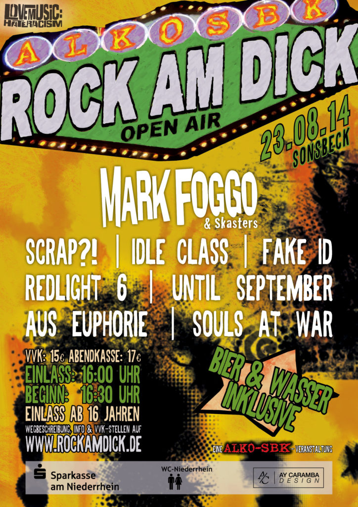 Rock am Dick Flyer 2014