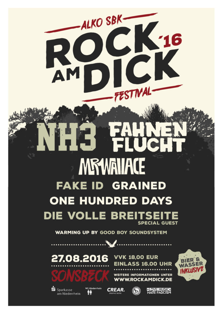 Flyer Rock am Dick 2016