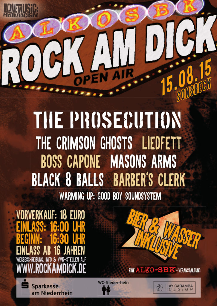 Flyer Rock am Dick 2015